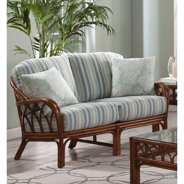 Stylish Edgewater Loveseat by Braxton Culler by Braxton Culler