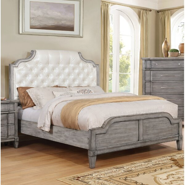 Bernadette Upholstered Standard Bed by Lark Manor
