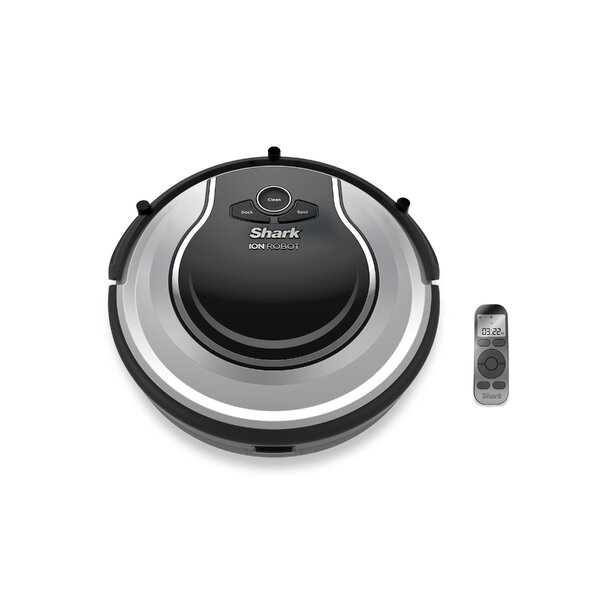 Bagless Robotic Vacuum with Optional Scheduled Cleaning by Shark