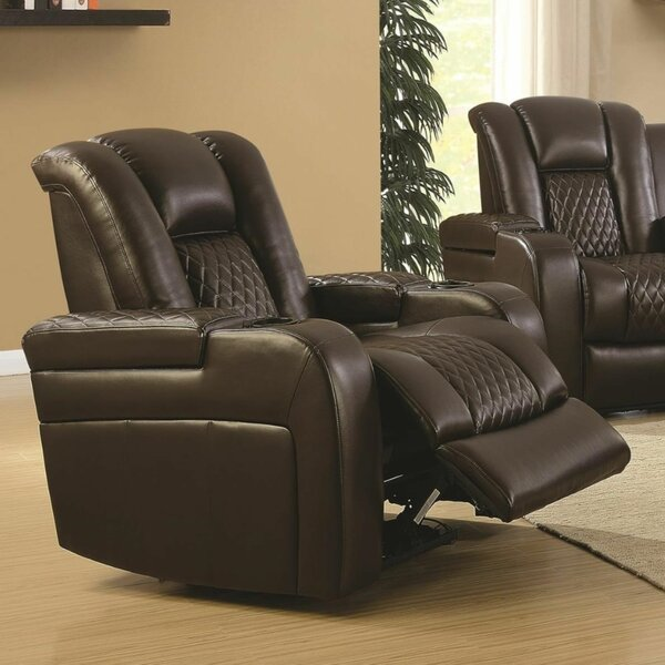 Yannick Contemporary Padded Plush Power Recliner W001188069