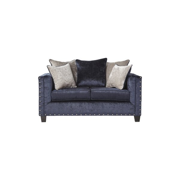 Whitbeck Midnight Loveseat By Gracie Oaks
