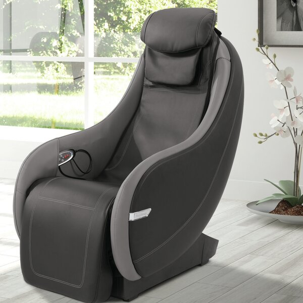 Reclining Heated Massage Chair by Brookstone