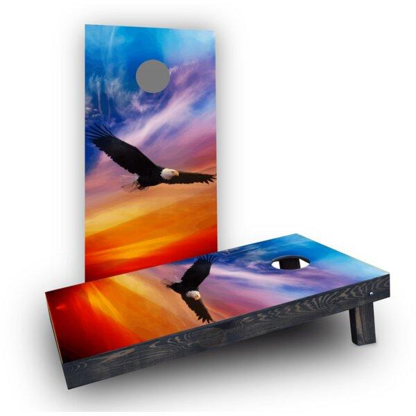 Flying Eagle (Set of 2) by Custom Cornhole Boards