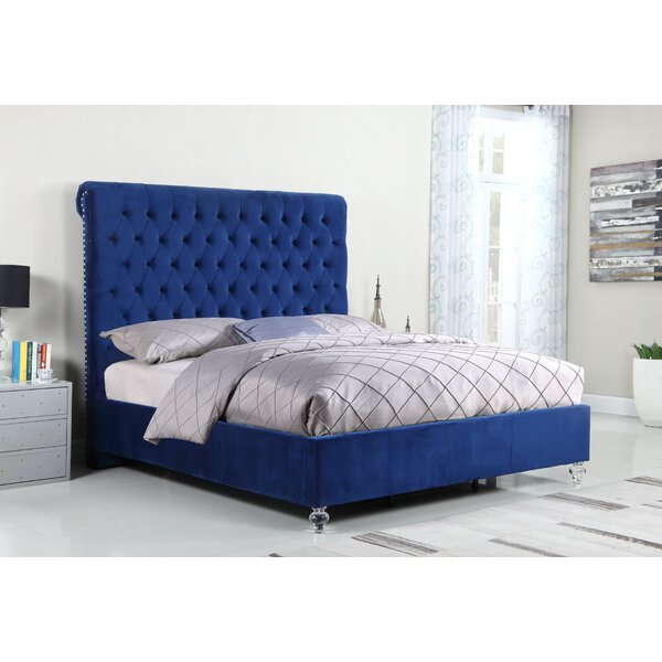 Denzel Upholstered Panel Bed by Rosdorf Park