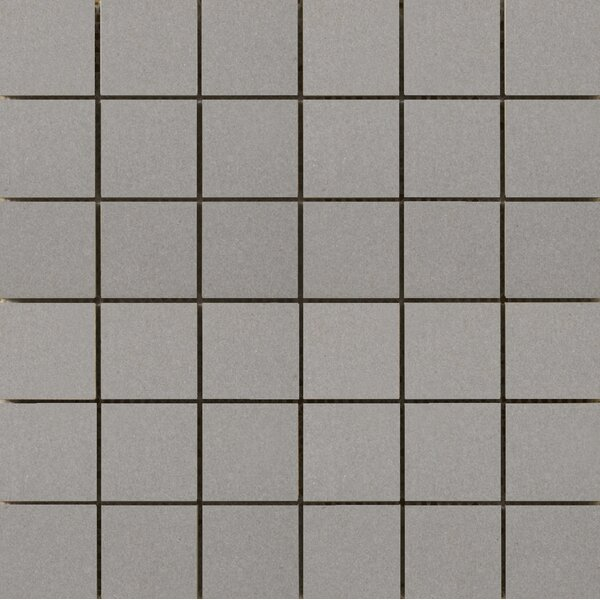 Perspective Pure 12 x 12 Porcelain Mosaic Tile in Dove by Emser Tile