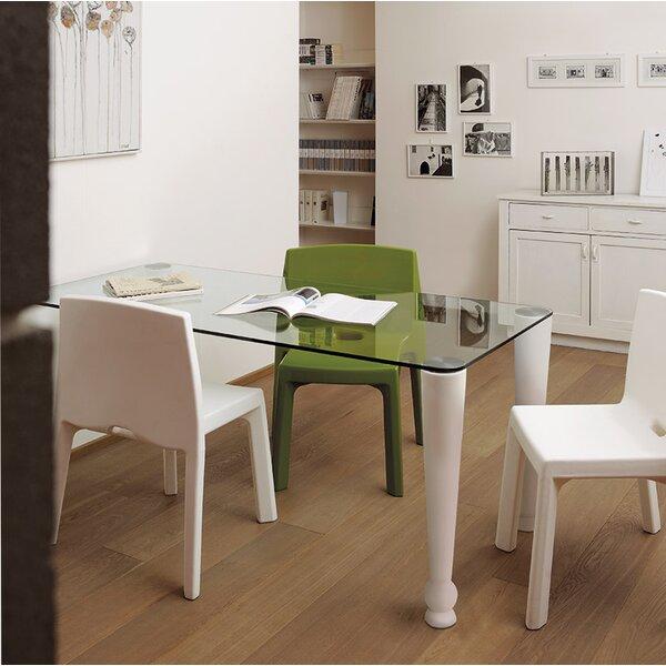 Trainer Osvaldo 4 Piece Dining Table Set by Latitude Run