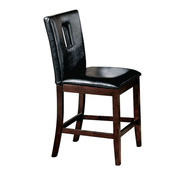 Sereno Genuine Leather Upholstered Dining Chair (Set of 2) by Red Barrel Studio