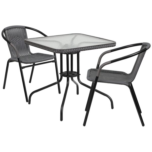 Nathaniel 3 Piece Bistro Set by Zipcode Design