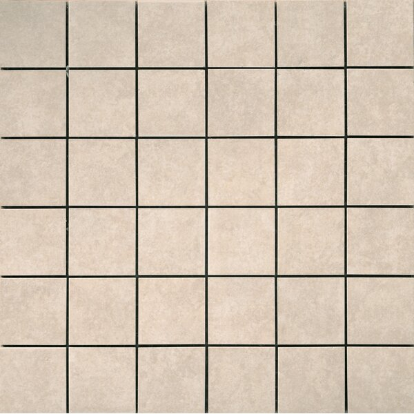 Pacific 2 x 2 Ceramic Mosaic Tile in Cream by Emser Tile