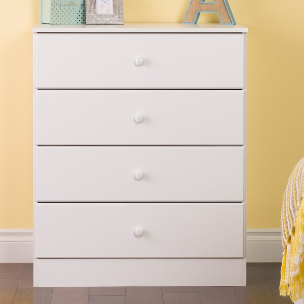 Doyle 4 Drawer Dresser by Trule Teen