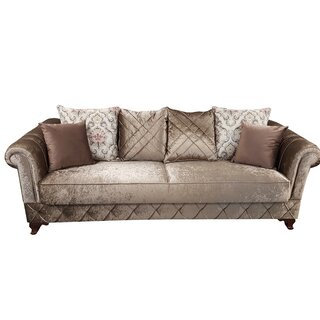 Kosem Convertible Sleeper Sofa, Dropp Brown by Rosdorf Park SKU:BD103307 Details