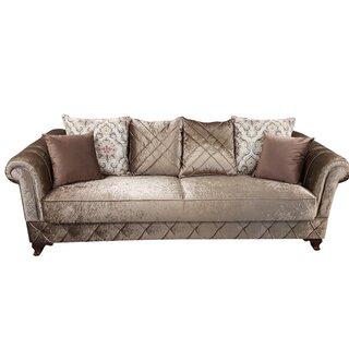 Kosem Convertible Sleeper Sofa, Dropp Brown by Rosdorf Park SKU:BD103307 Details
