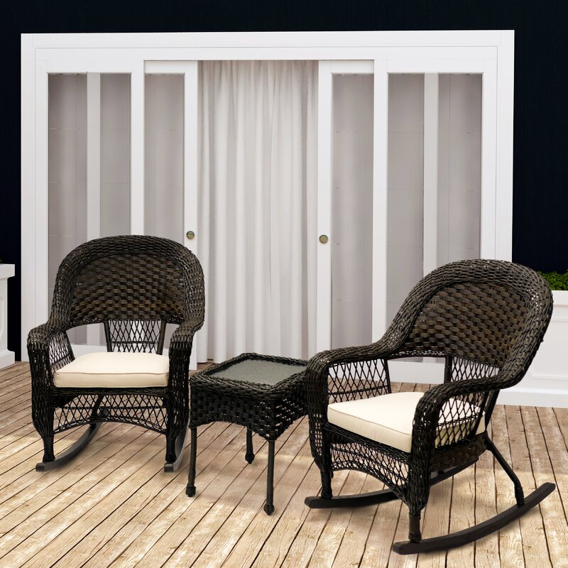 Patio Rocking Chairs U0026 Gliders Youu0027ll Love | Wayfair