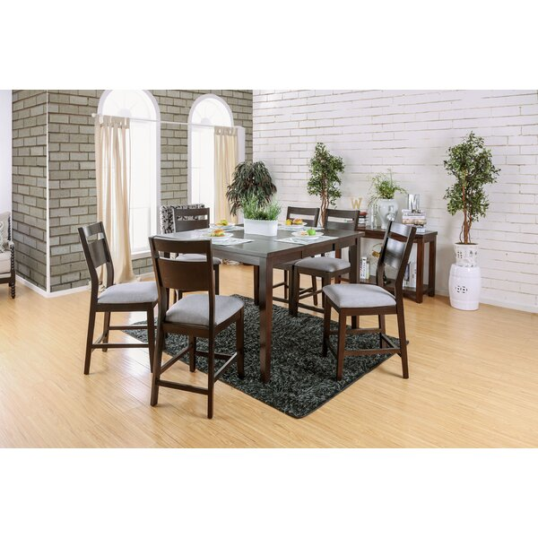 Farrington Gurney 7 Piece Counter Height Extendable Dining Set by Brayden Studio