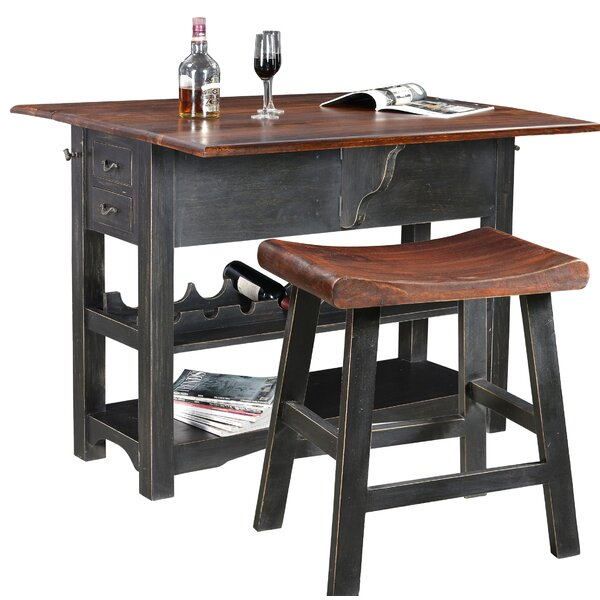 Sargeant Bar Set With Wine Storage By Canora Grey