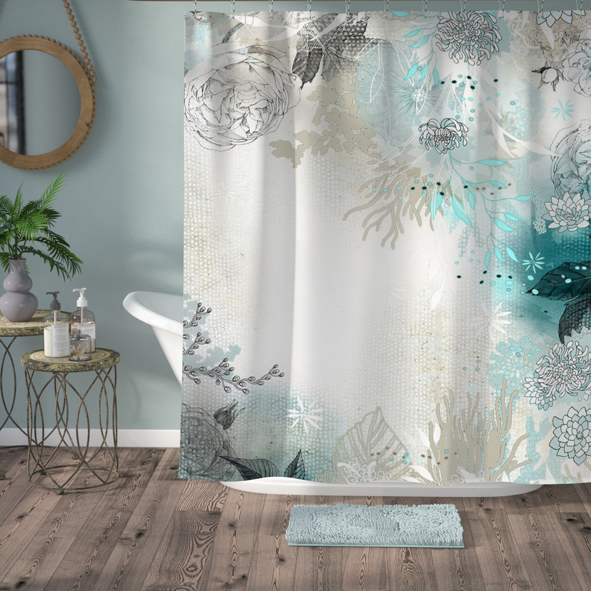 gray rustic fall elegant light curtains luxury pic of color ideas shower