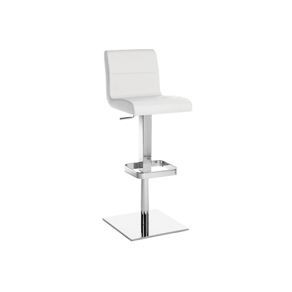 Stella Adjustable Height Swivel Bar Stool by Casabianca Furniture