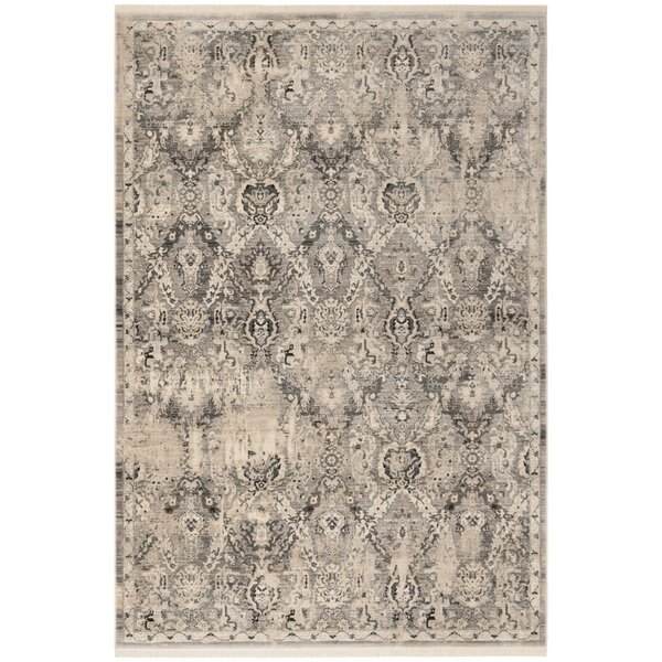 Voigt Vintage Persian Gray/Blue Area Rug by Ophelia & Co.