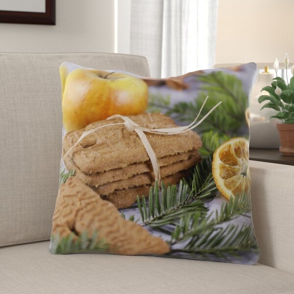 Pasquale Advent Indoor/Outdoor Canvas Throw Pillow