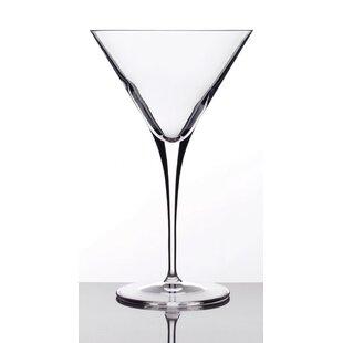 unique martini glasses quirky cocktail crescendo martini glass set of 4 glasses youll love wayfair