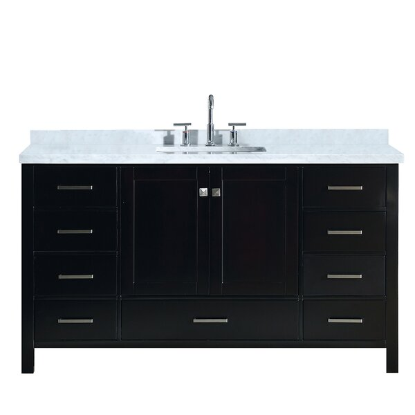 Utley Modern 61 Single Bathroom Vanity Set by Andover Mills