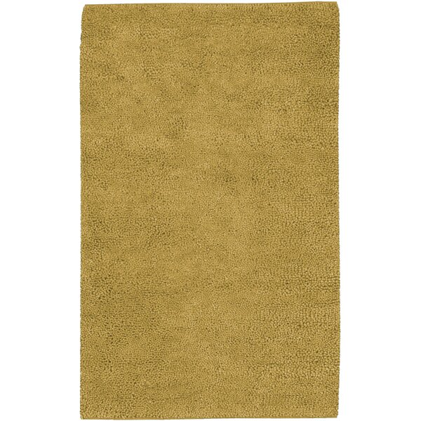 Bonney Gold Area Rug by Wrought Studio
