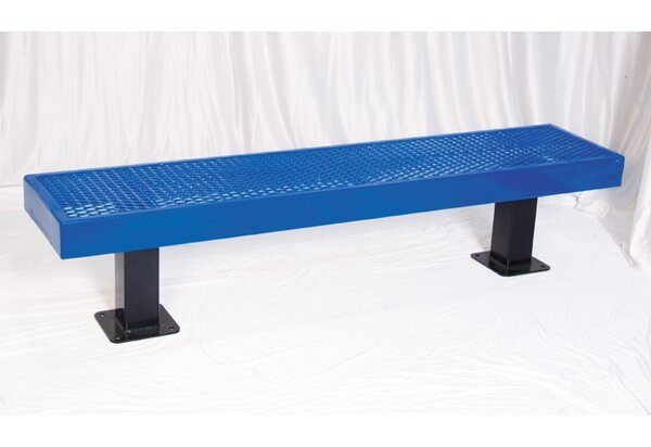 Steel Mall Bench by UltraPlay
