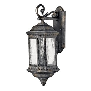 Best Reviews Delit 3-Light Outdoor Wall Lantern By Astoria Grand