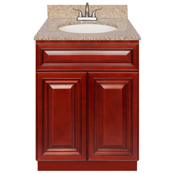 Edgware 24 Single Bathroom Vanity Set by Charlton Home