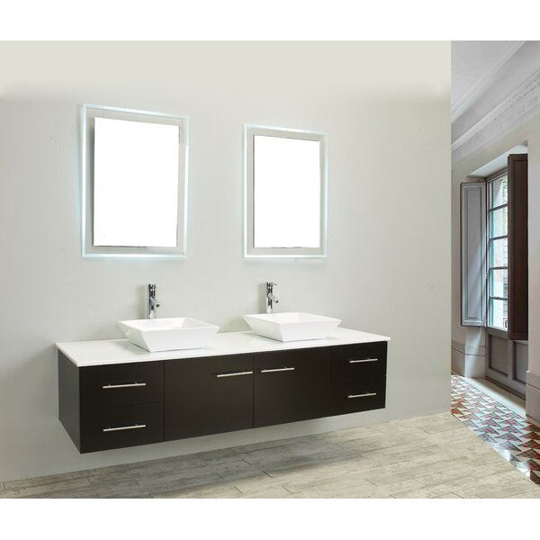 Vinit 72 Double Bathroom Vanity Set by Orren Ellis