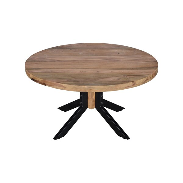 Sigala Cross Legs Coffee Table By Union Rustic