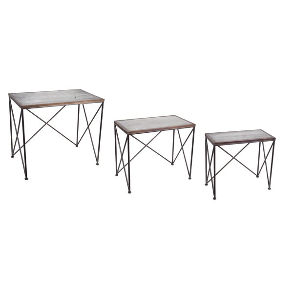 Griffin Accent Nesting Table (Set of 3) by Gracie Oaks