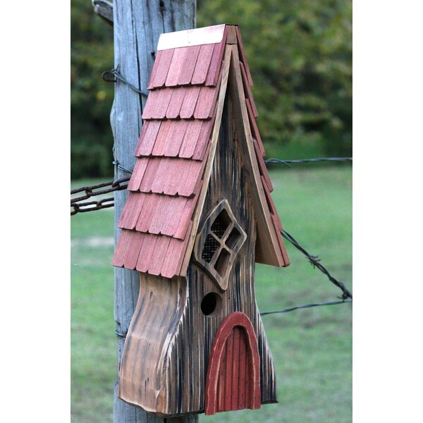 Ye Olde 24 in x 9 in x 8 in Birdhouse by Heartwood