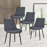 Fabric Industrial Kitchen Dining Chairs You Ll Love In 2021 Wayfair