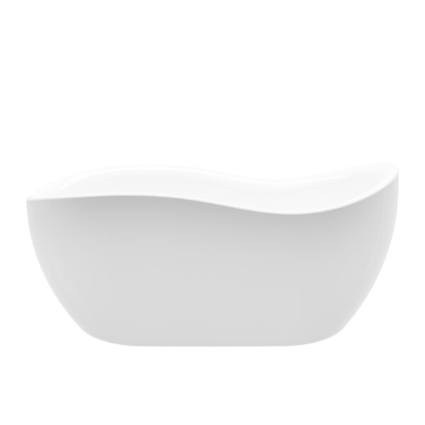 Axel 68 x 29 Freestanding Soaking Bathtub by A&E Bath and Shower