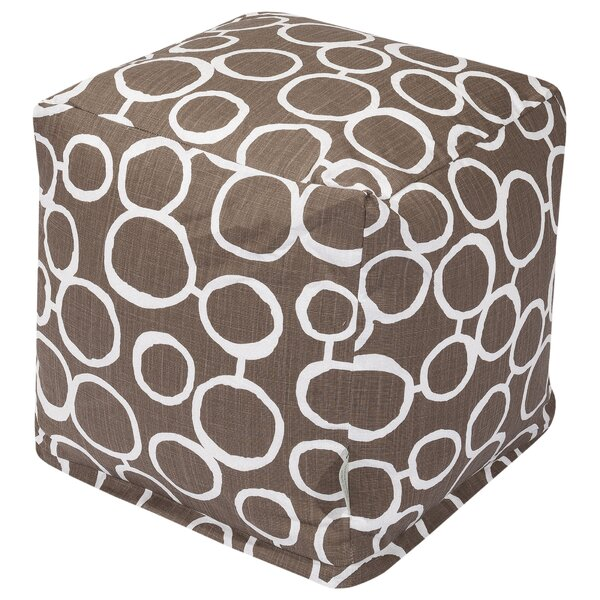 Christia Cube Ottoman by Ebern Designs