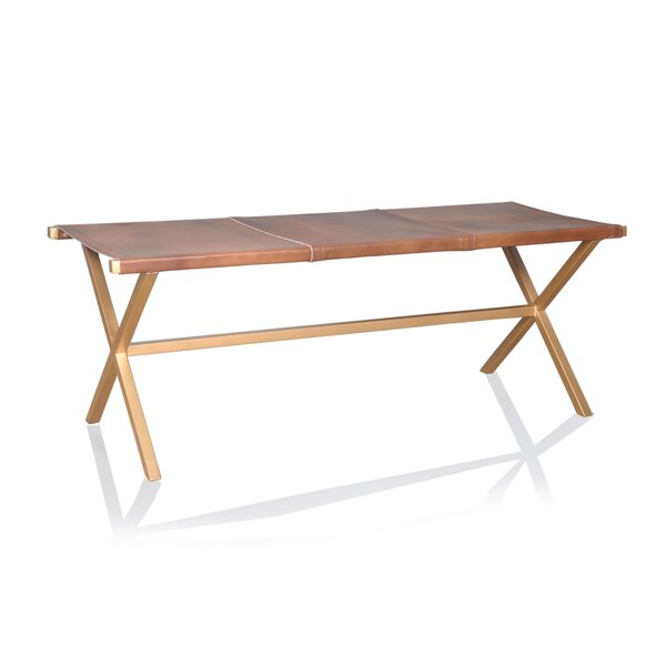 Northwest Hills Metal Bench by Union Rustic Union Rustic