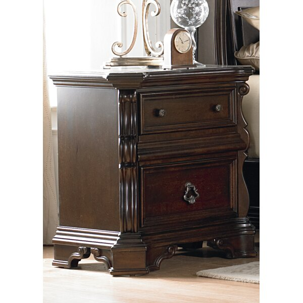 Kate 2 Drawer Nightstand by Astoria Grand