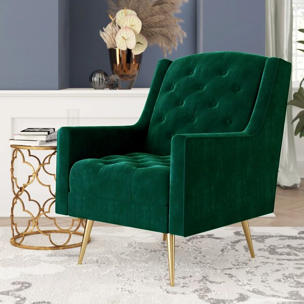 Hubbard Wingback Chair By Mercer41 by Mercer41 Spacial Price