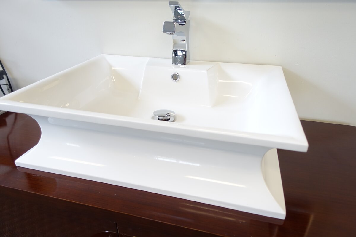 p nickel saving brushed low bn vibrant sink faucets k forte arc kohler in bathroom single water hole handle faucet