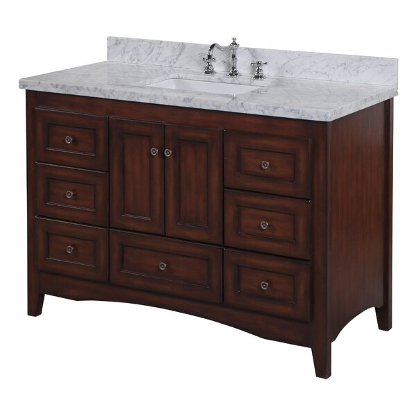 Abbey 48 Single Bathroom Vanity Set by Kitchen Bath Collection