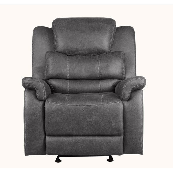 Natalie Manual Wall Hugger Recliner by 17 Stories