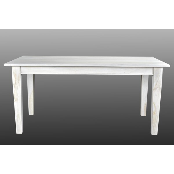 Koch Solid Wood Dining Table by Union Rustic