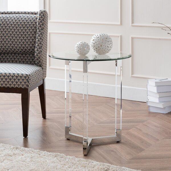 Holbeach End Table by Everly Quinn