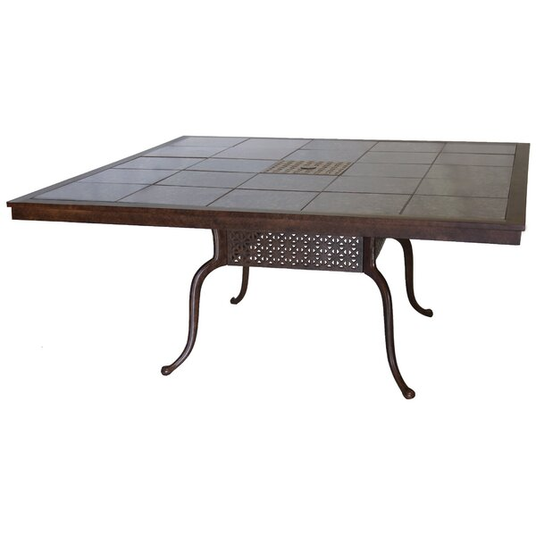 Dolby Aluminium Dining Table by Astoria Grand