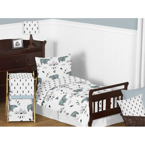 Bear Mountain 5 Piece Toddler Bedding Set by Sweet Jojo Designs