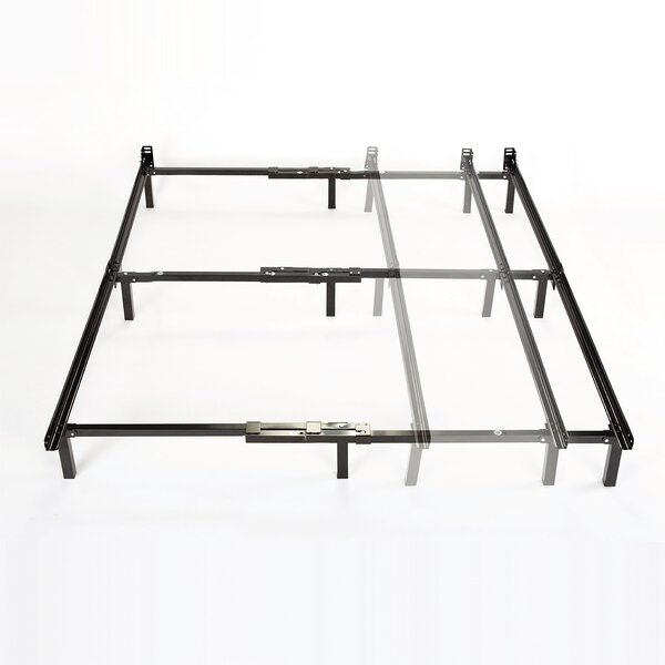 Adjustable Full to King Size Bed Frame by Alwyn Home