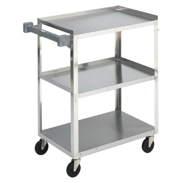 Stainless Steel All Purpose Utility Cart by Brewer