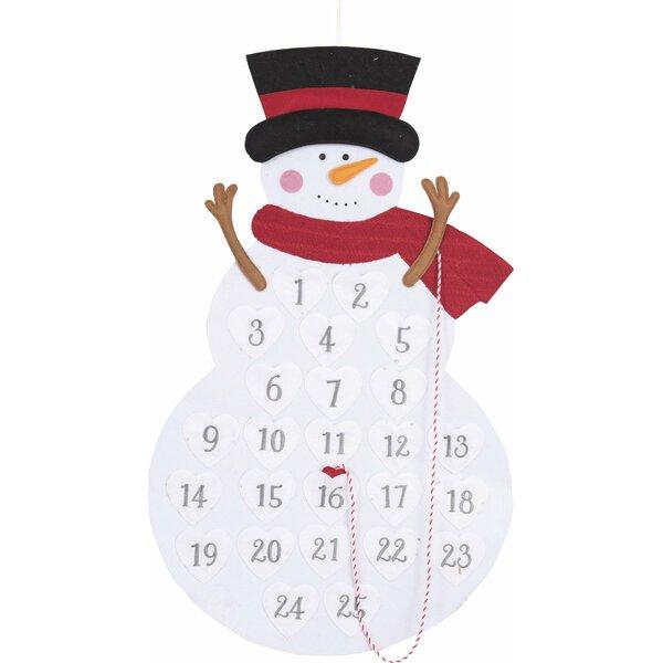 Felt Snowman Advent Calendar by The Holiday Aisle