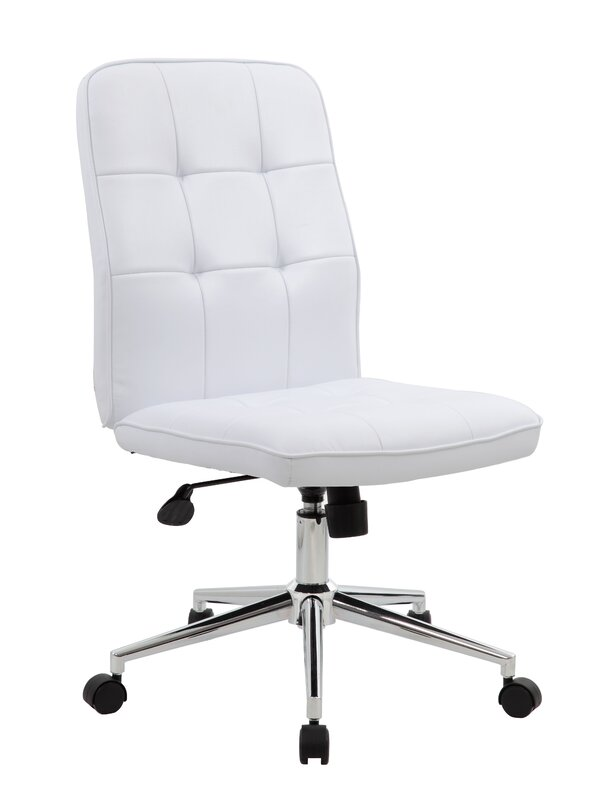 Wrought Studio Wall Street Adjustable Mid-Back Office Chair ... on spring office chair, lightweight office chair, modern office chair, eco friendly office chair, iron office chair, flexible office chair, rugged office chair, powerful office chair, adjustable glider chairs, nylon office chair, magnetic office chair, elastic office chair, square office chair, glass office chair, adjustable chairs stools, box office chair, self adjusting office chair, fully reclinable office chair, solid office chair, sliding office chair,